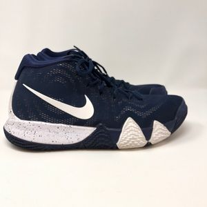 Nike Mens Kyrie 4 Basketball Shoes Midnight Navy